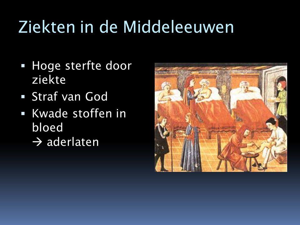 Ziekten in de Middeleeuwen