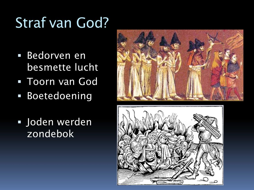 Straf van God Bedorven en besmette lucht Toorn van God Boetedoening