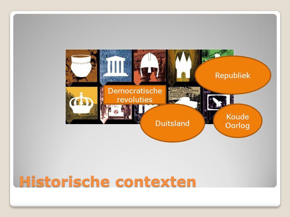 Historische contexten