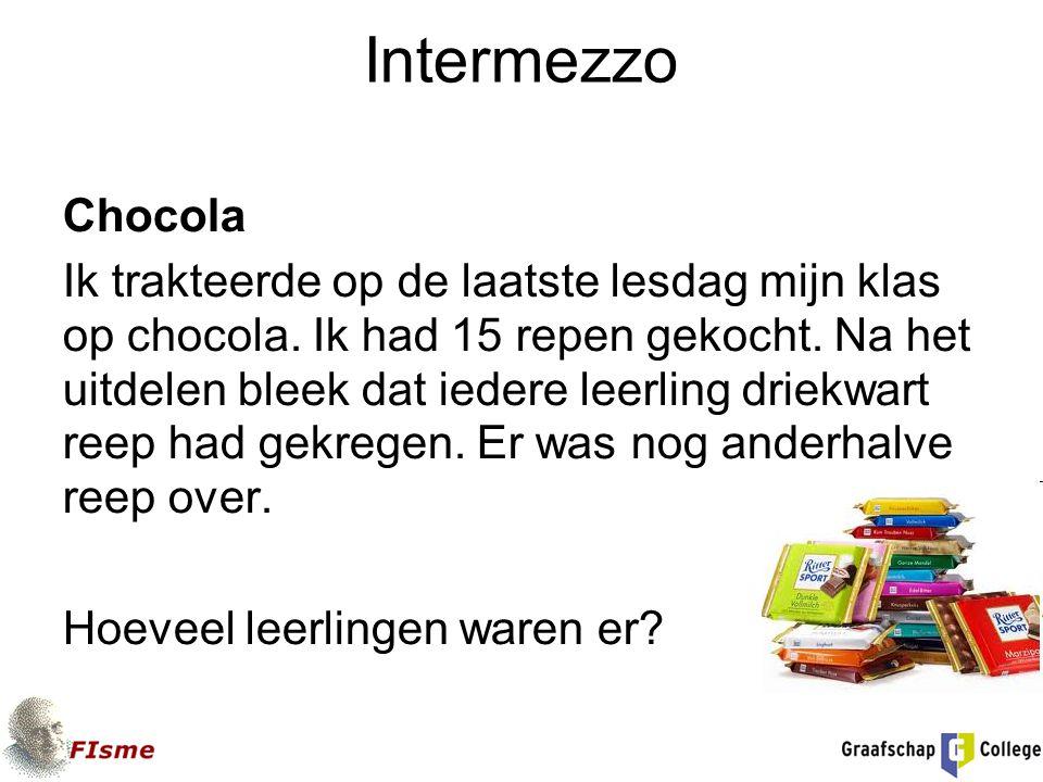 Intermezzo Chocola.