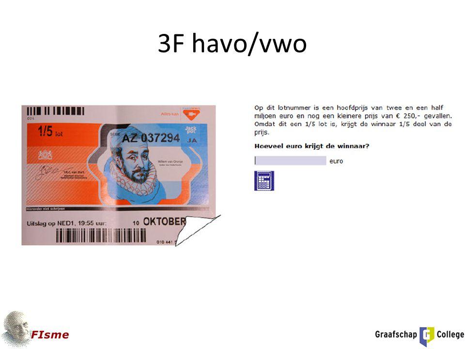 3F havo/vwo
