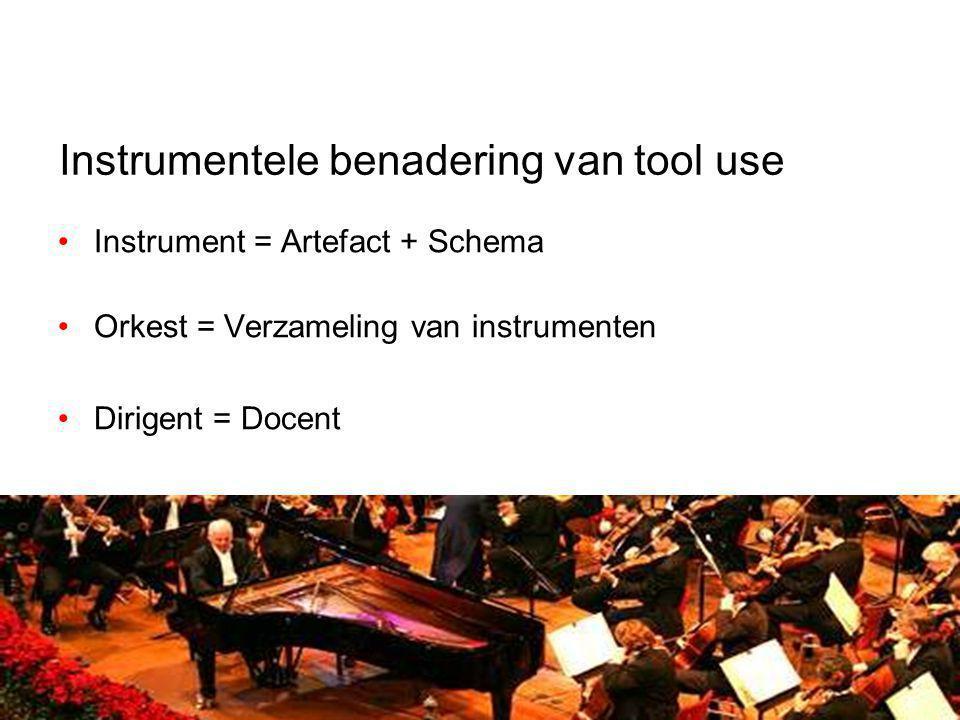 Instrumentele benadering van tool use