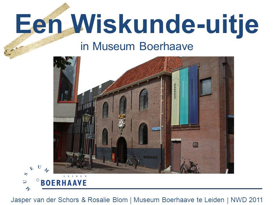 Een Wiskunde-uitje in Museum Boerhaave