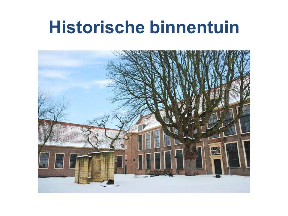Historische binnentuin