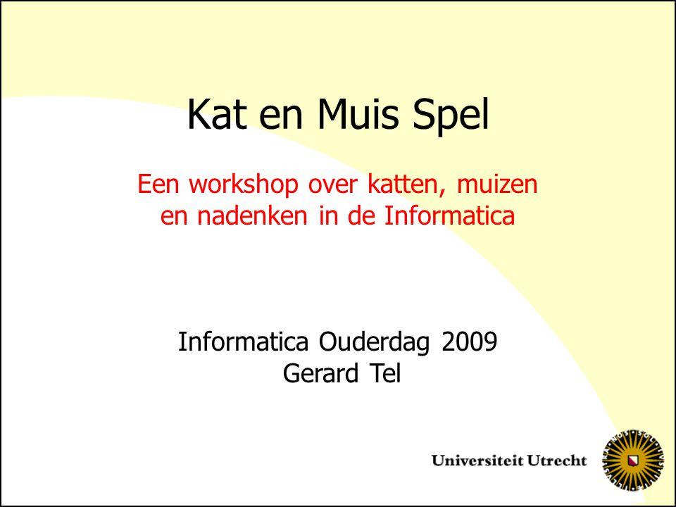 Een workshop over katten, muizen en nadenken in de Informatica