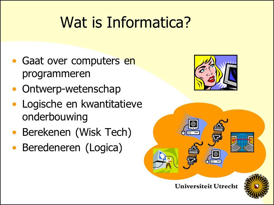 Wat is Informatica Gaat over computers en programmeren
