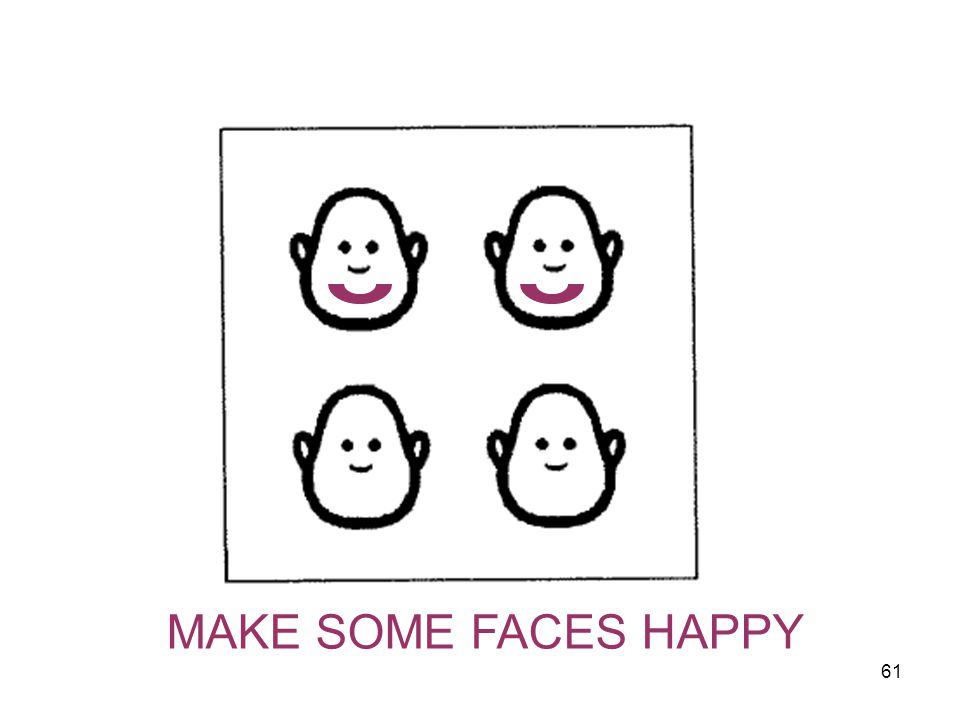 MAKE SOME FACES HAPPY