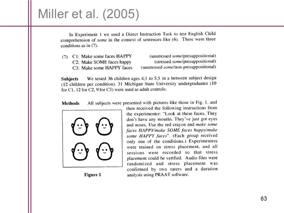 Miller et al. (2005)