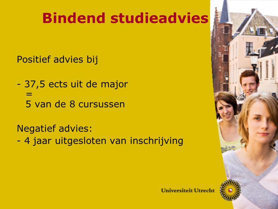 Bindend studieadvies Positief advies bij