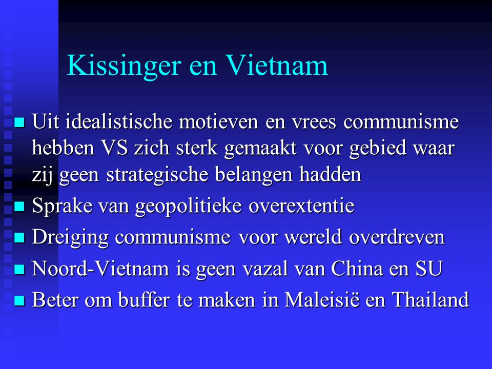Kissinger en Vietnam