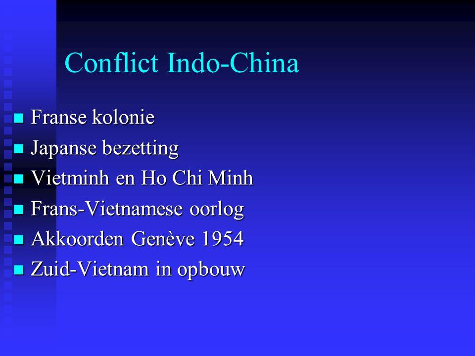 Conflict Indo-China Franse kolonie Japanse bezetting
