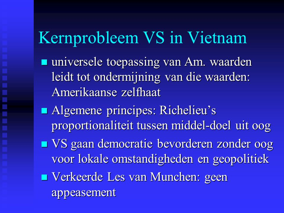 Kernprobleem VS in Vietnam