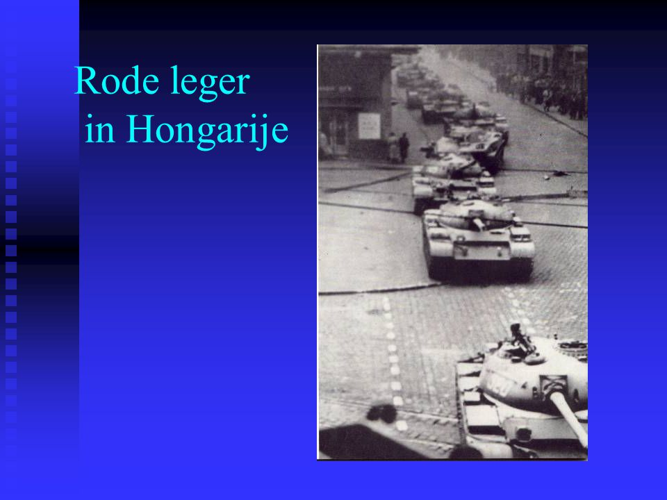 Rode leger in Hongarije