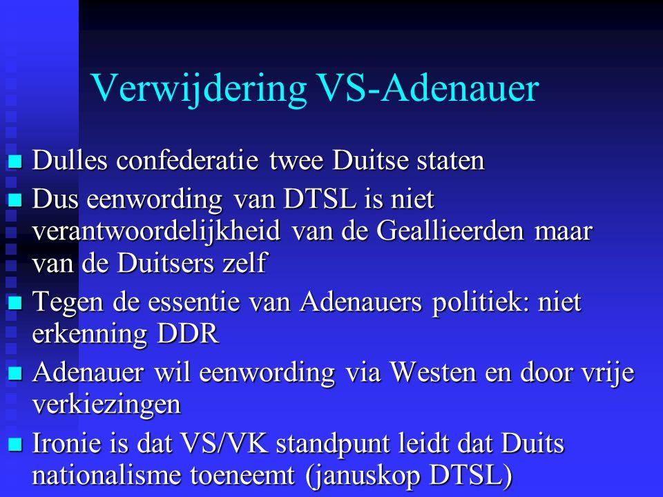 Verwijdering VS-Adenauer