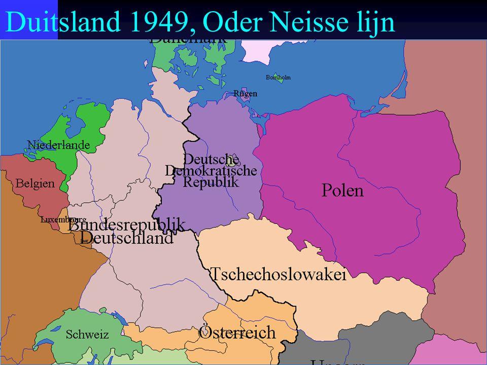 Duitsland 1949, Oder Neisse lijn
