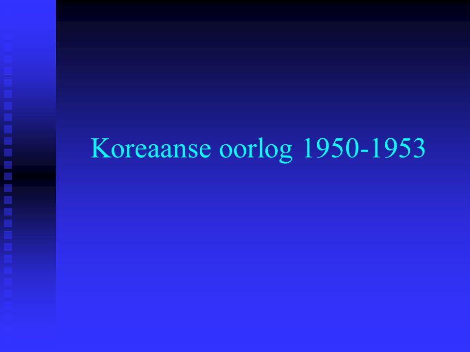 Koreaanse oorlog 1950-1953