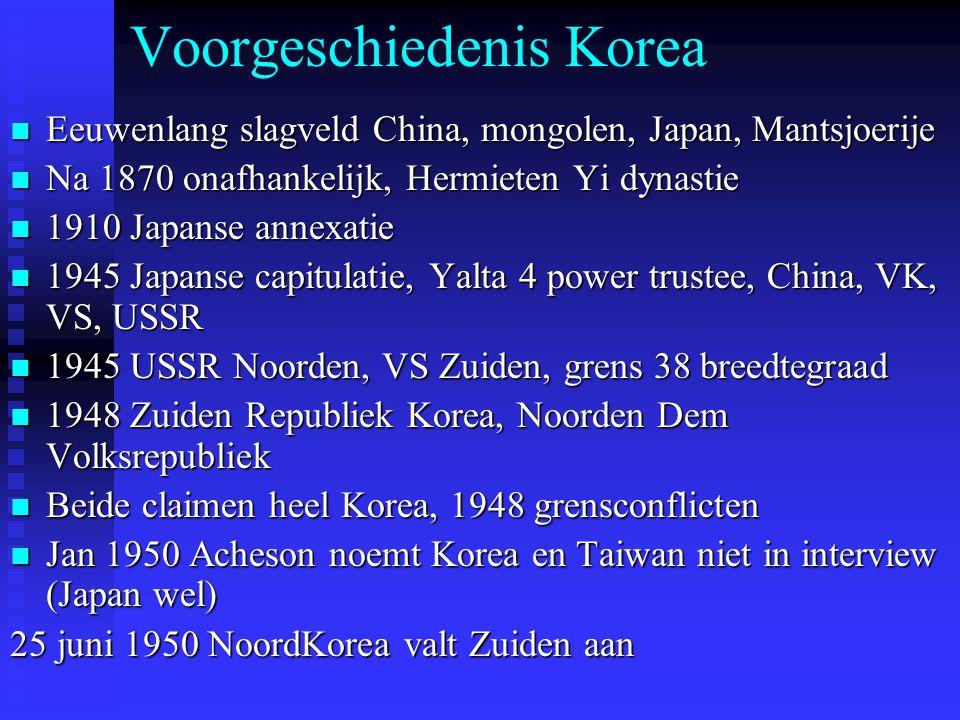 Voorgeschiedenis Korea