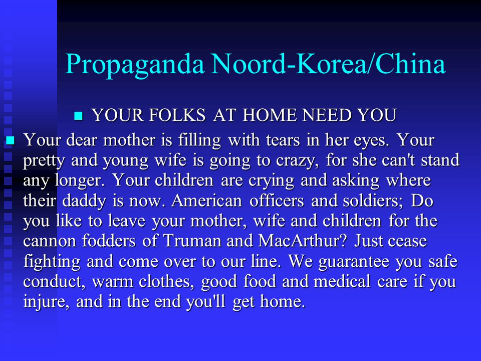 Propaganda Noord-Korea/China