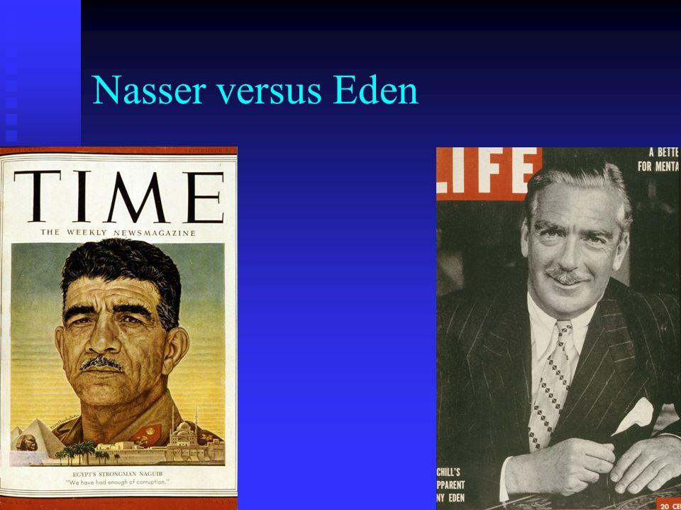 Nasser versus Eden