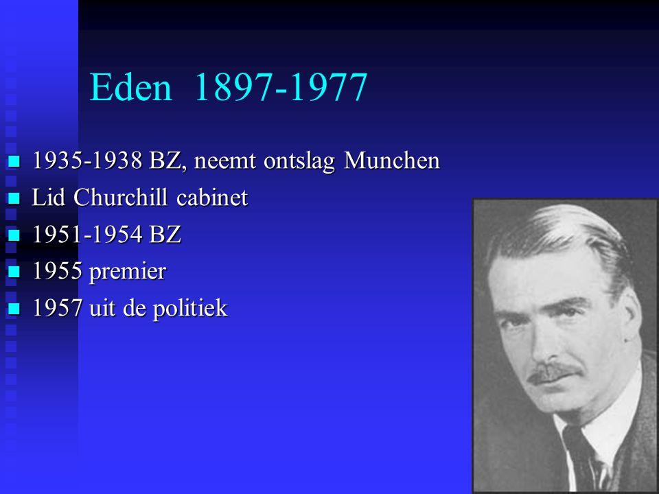 Eden 1897-1977 1935-1938 BZ, neemt ontslag Munchen