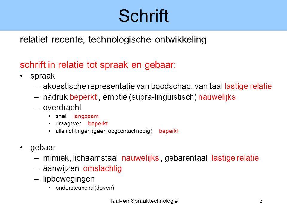 Taal- en Spraaktechnologie