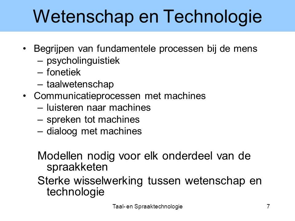 Wetenschap en Technologie