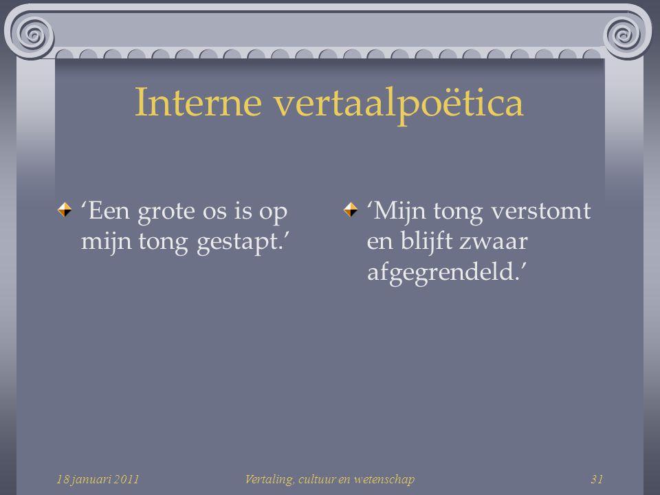 Interne vertaalpoëtica