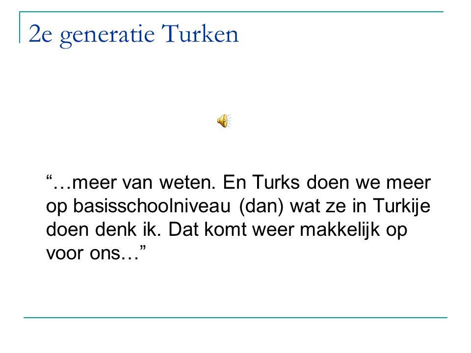 2e generatie Turken