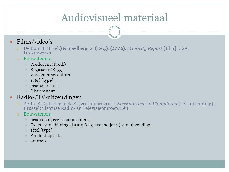Audiovisueel materiaal