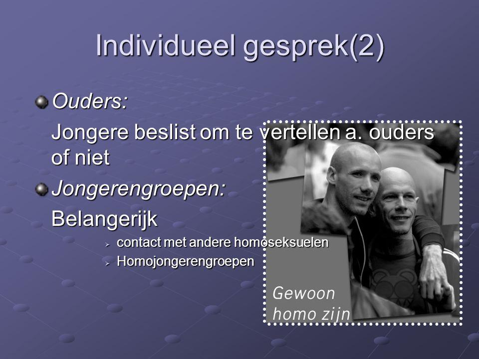 Individueel gesprek(2)