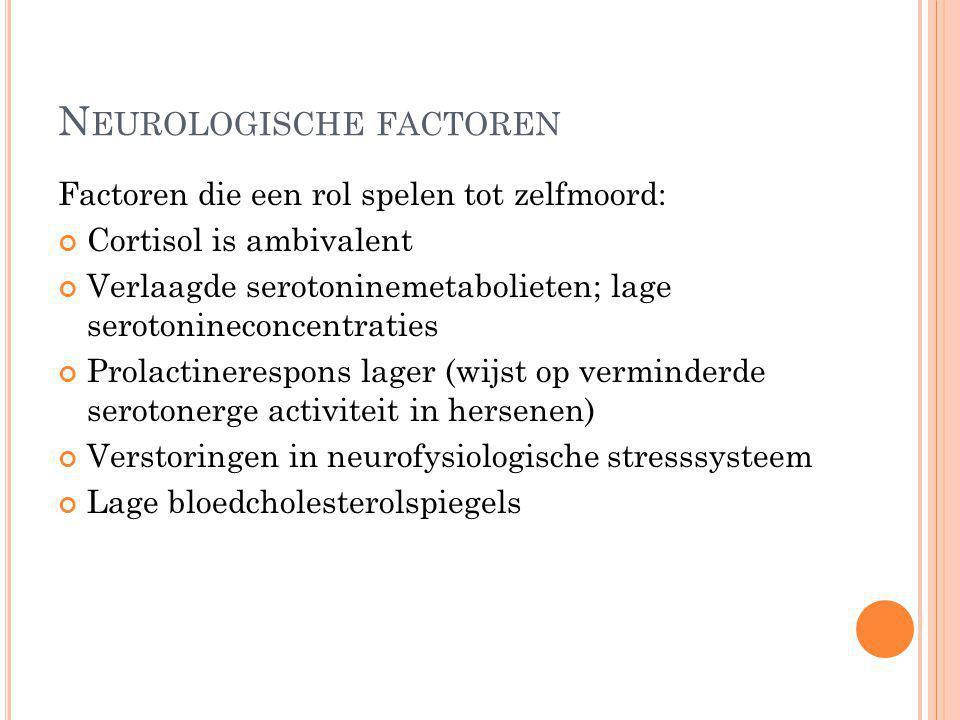 Neurologische factoren
