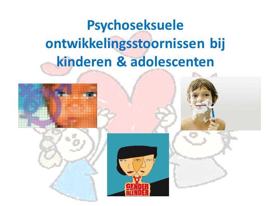 Psychoseksuele ontwikkelingsstoornissen bij kinderen & adolescenten
