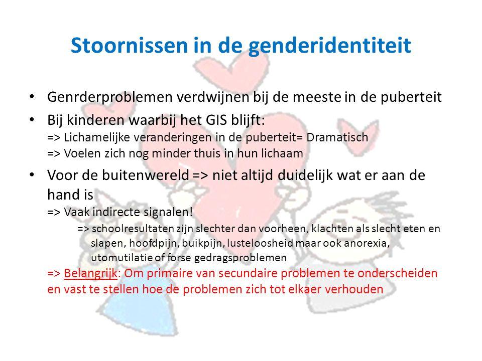 Stoornissen in de genderidentiteit