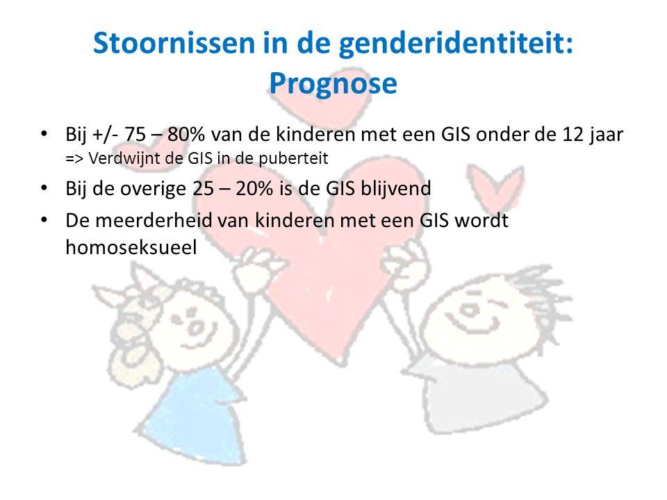 Stoornissen in de genderidentiteit: Prognose