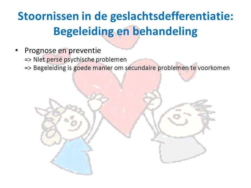 Stoornissen in de geslachtsdefferentiatie: Begeleiding en behandeling
