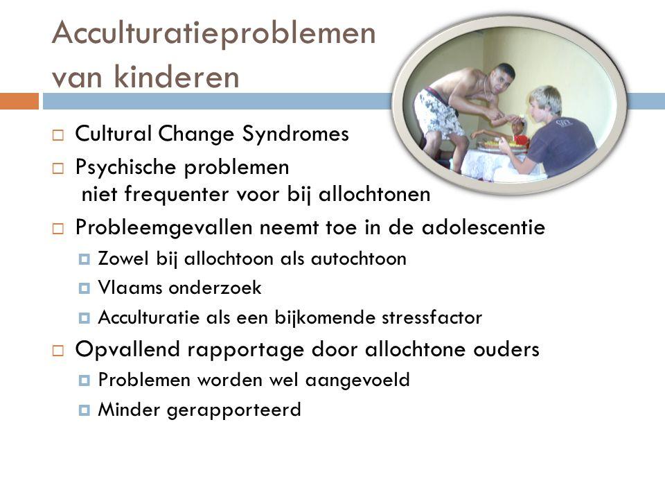 Acculturatieproblemen van kinderen