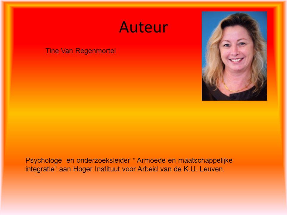Auteur Tine Van Regenmortel