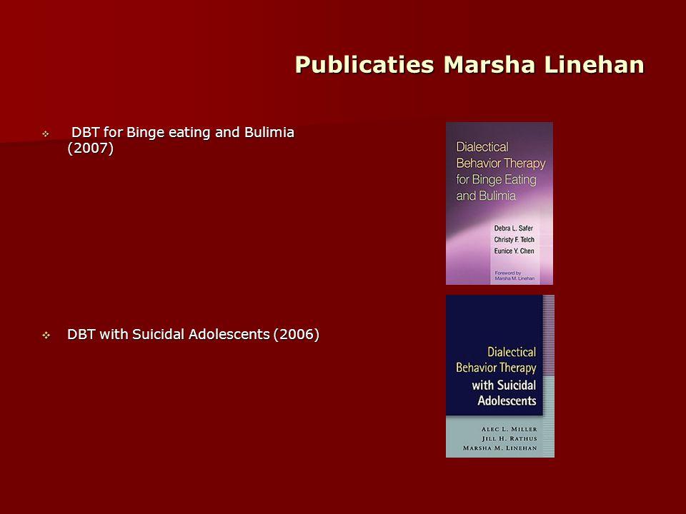 Publicaties Marsha Linehan