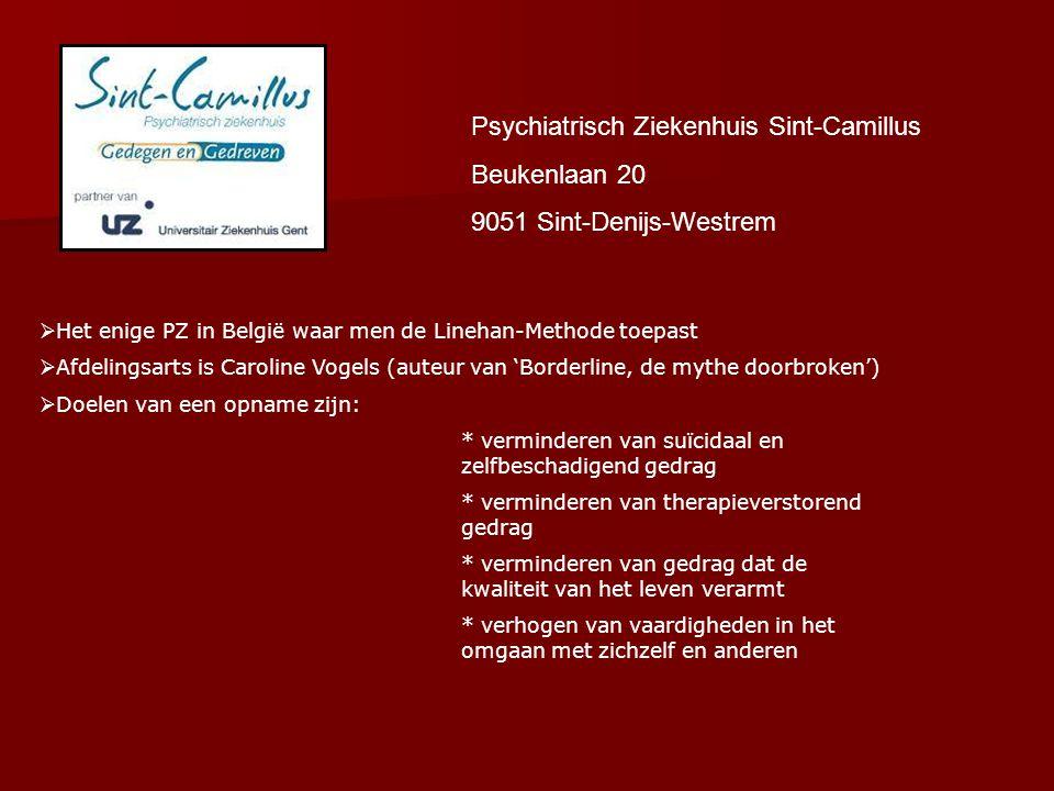 Psychiatrisch Ziekenhuis Sint-Camillus Beukenlaan 20