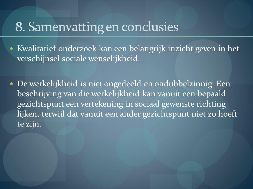 8. Samenvatting en conclusies