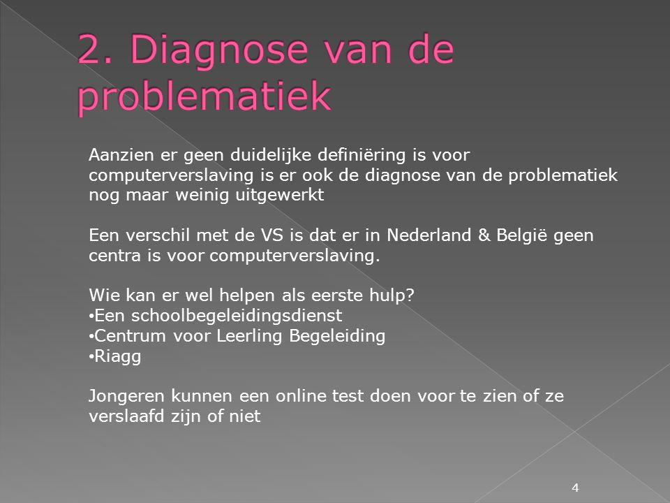 2. Diagnose van de problematiek