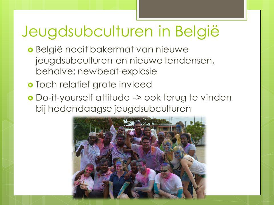 Jeugdsubculturen in België
