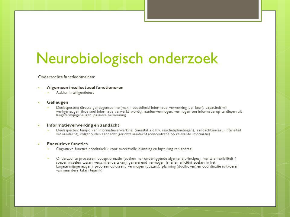 Neurobiologisch onderzoek