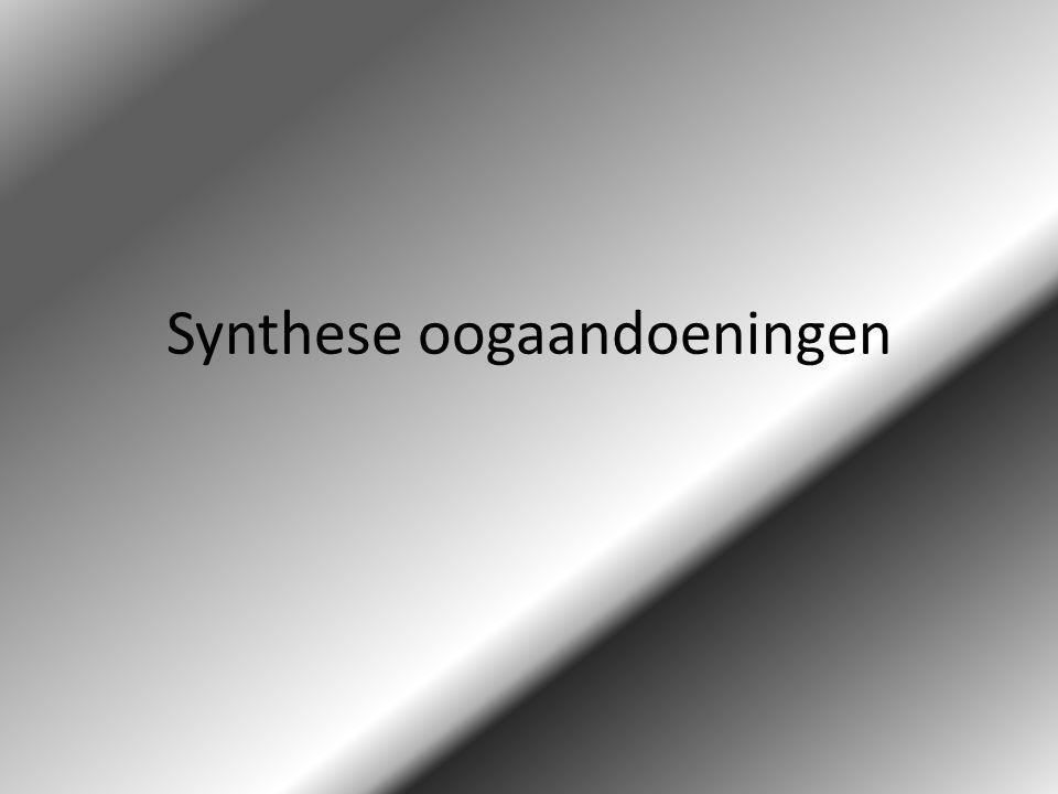 Synthese oogaandoeningen