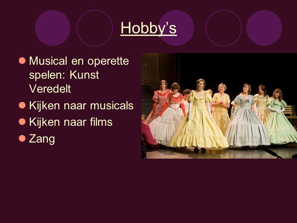 Hobby's Musical en operette spelen: Kunst Veredelt