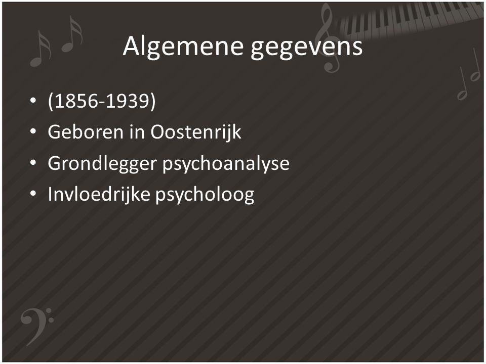 Algemene gegevens (1856-1939) Geboren in Oostenrijk