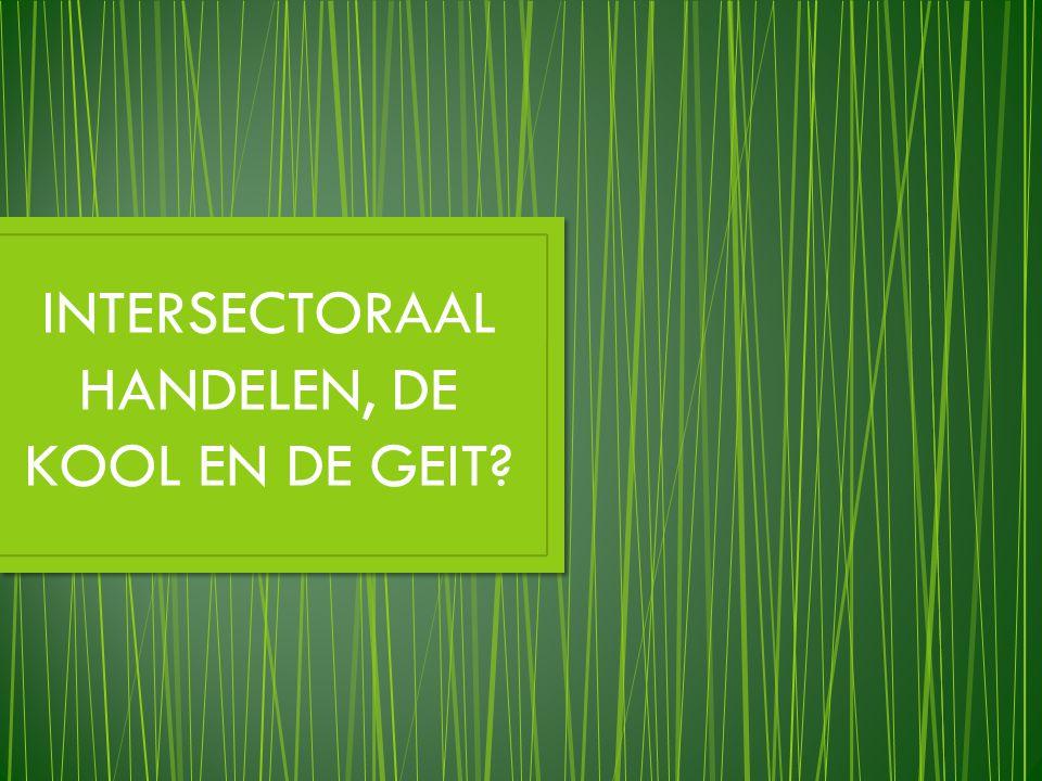 INTERSECTORAAL HANDELEN, DE KOOL EN DE GEIT
