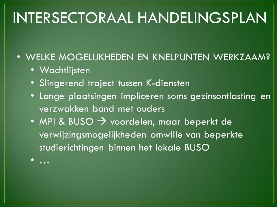 INTERSECTORAAL HANDELINGSPLAN