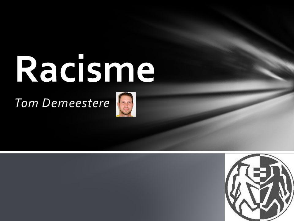 Racisme Tom Demeestere