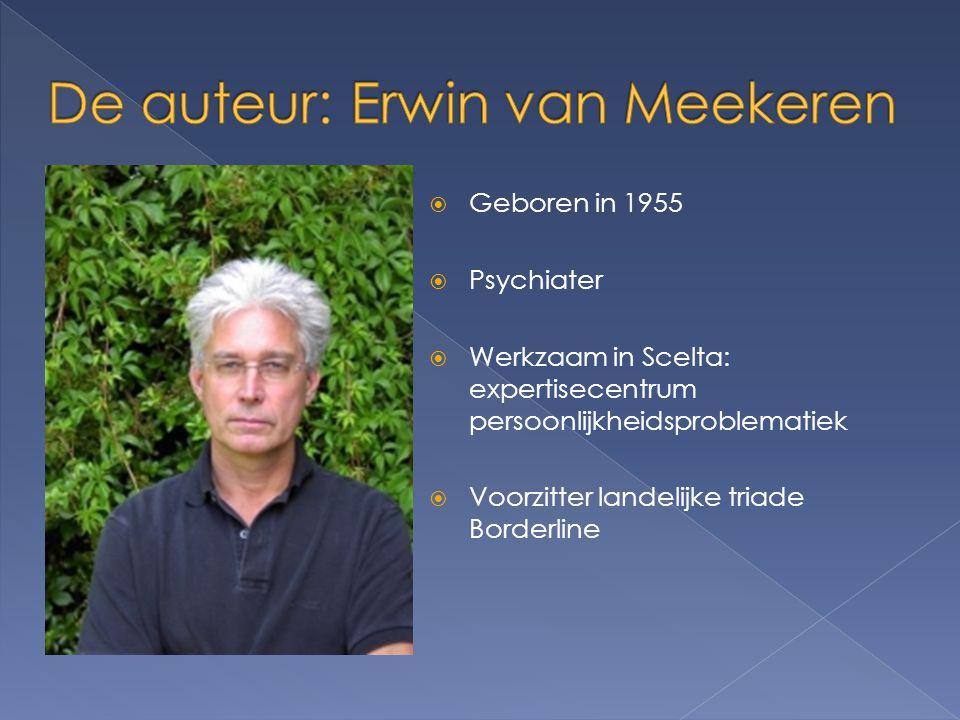 De auteur: Erwin van Meekeren